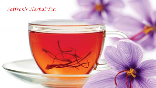 saffron's herbal tea